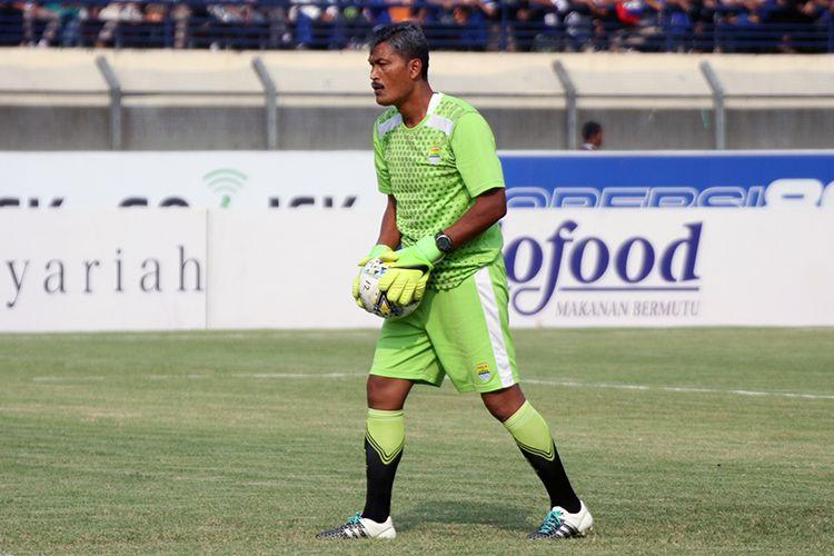 Pelatih Kiper Persib, Gatot Prasetyo.