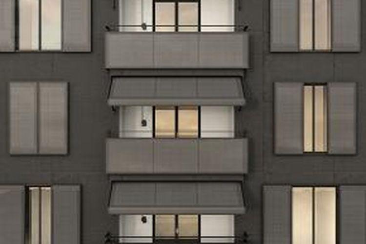 Wah Panel Surya Juga Tampil Cantik Untuk Fasad Rumah