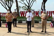 Jokowi Set Target of Inoculating 7.5 million Jakartans End of August
