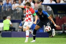 Final Piala Dunia 2018: Mbappe Bawa Perancis Unggul 4-1 atas Kroasia