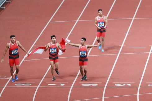 6 Sprinter Indonesia Akan Ikuti Ajang Asian Athletic Qatar 2019