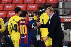 Gara-gara Selebrasi Messi untuk Maradona, Barcelona Terancam Denda Rp 50 Juta