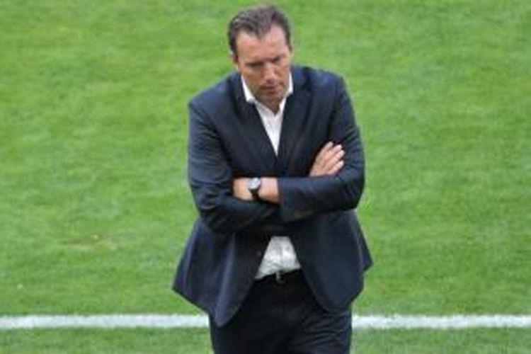 Pelatih tim nasional Belgia, Marc Wilmots.