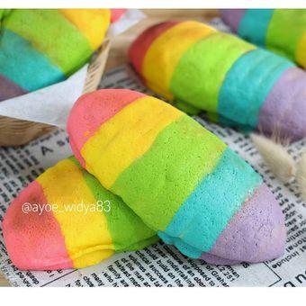 Mexico Rainbow Bun kreasi Ayu Widyaningrum