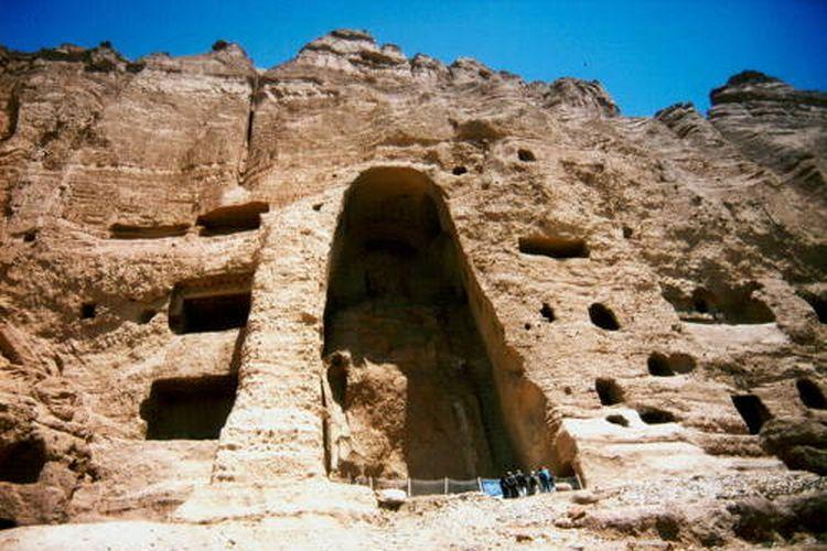 Ceruk bekas patung Buddha di Bamiyan Valley, Afghanistan DOK. UNESCO/Alessandro Balsamo
