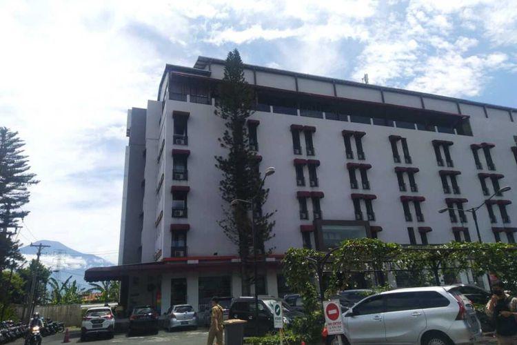 Hotel Meotel by Dafam Purwokerto, Kabupaten Banyumas, Jawa Tengah.