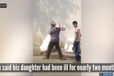 Video Viral Tunjukkan Ayah Ini Gendong Jenazah Putrinya ke Krematorium
