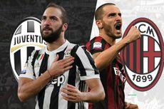 Jadawal Siaran Langsung Liga Italia, Malam Ini Juventus Vs AC Milan