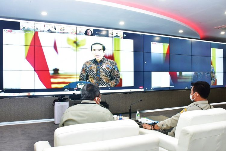 Gelar Buah Nusantara (GBN) ke-6 Tahun 2021 secara virtual pada Senin (9/8/21).