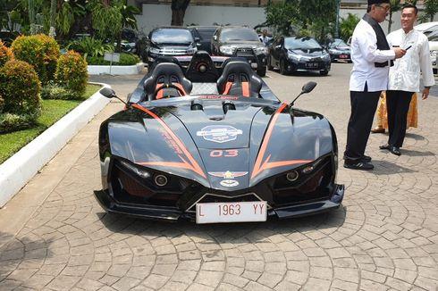 Mobil Karya Anak Bangsa dari ITS Ikut Konvoi Formula E di Monas