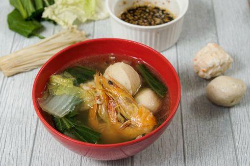 Resep Steamboat Rumahan Kuah Udang, Bikin Pakai Rice Cooker