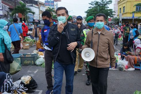 Kontak Pasien Positif, 5 Pedagang Pasar Pagi Salatiga Jalani Karantina Mandiri