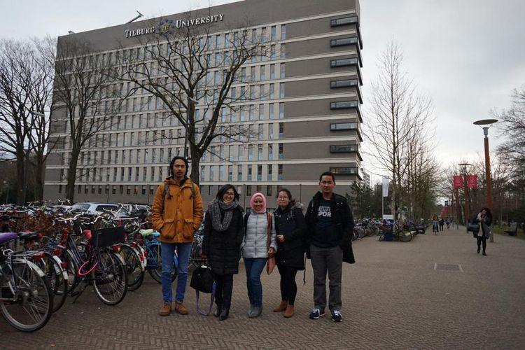Penerima beasiswa Stuned di Tilburg University