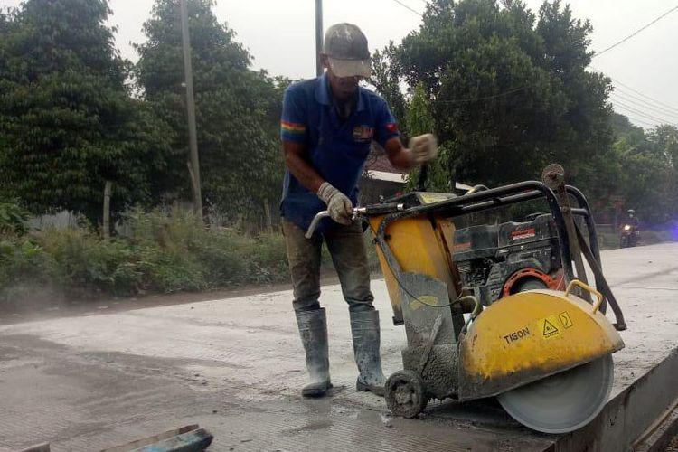 Progres pembangunan infrastruktur jalan di Kabupaten Kediri