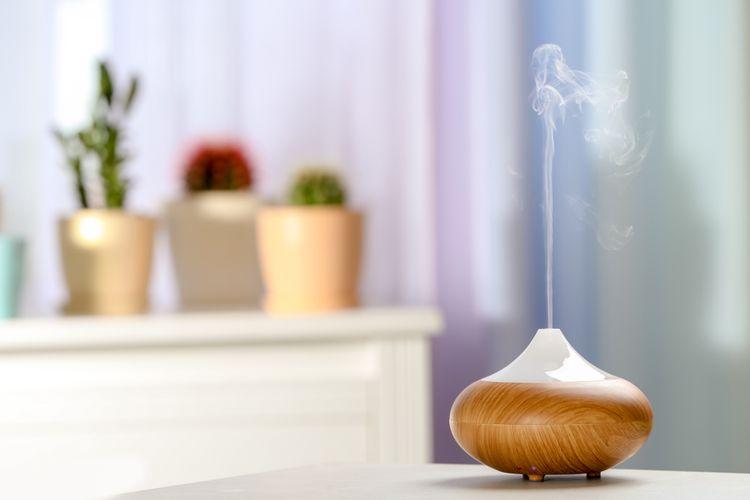 Ilustrasi aromaterapi.