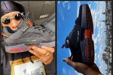 Lucien Clarke Pamer Sneaker Skateboard dari Louis Vuitton