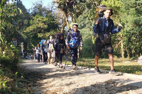 Kuota Pendakian Gunung Gede Pangrango Masih Ada hingga Akhir Tahun
