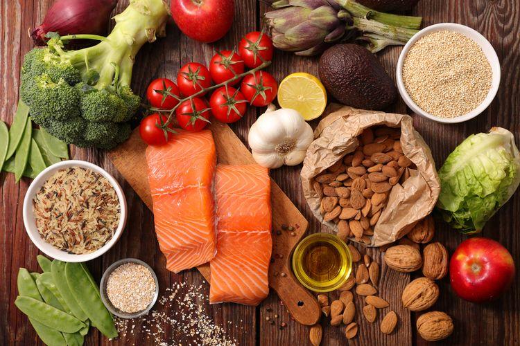 Ilustrasi sumber nitrogen manusia berasal dari makanan yang mengandung protein. Seperti ikan, daging, kacang-kacangan, susu dan lain sebagainya.