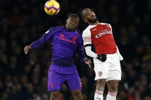 Hasil Arsenal Vs Liverpool, Lacazette Buyarkan Keunggulan The Reds