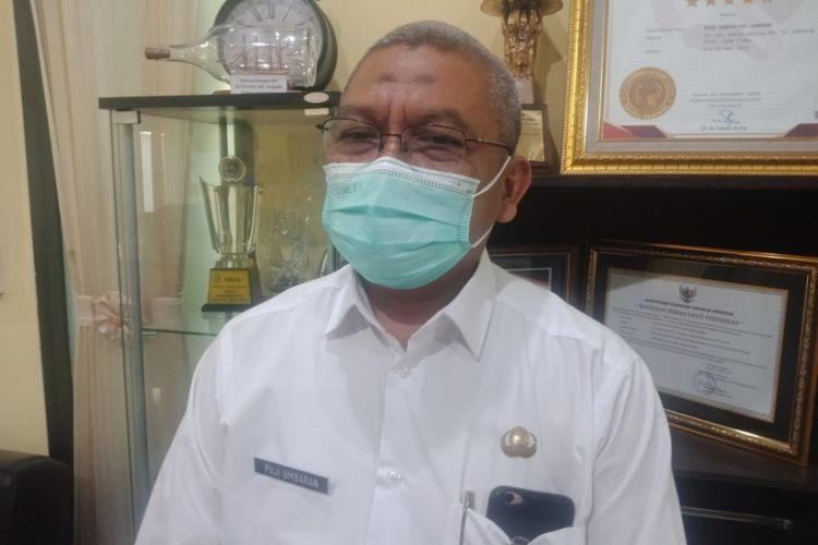 Pudji Umbaran, Direktur RSUD Jombang, Jawa Timur.