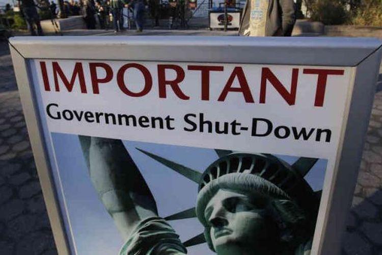Patung Liberty ditutup