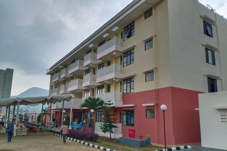 Rumah Susun Sewa (Rusunawa) Mahasiswa Universitas Padjadjaran di Jatinangor, Sumedang, resmi dibuka Menteri Pekerjaan Umum dan Perumahan Rakyat (PUPR) Basuki Hadimuljono, Sabtu (1/2/2020).
