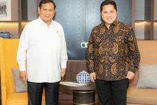 Bertemu Prabowo, Apa yang Dibahas Erick Thohir?