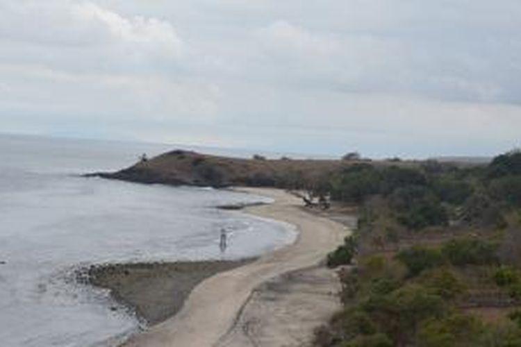 Pantai Watukodi di Kabupaten Manggarai Timur, NTT.