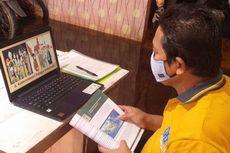 Masih Terjebak Banjir, Guru MAN di Kalimantan Selatan Aktif Mengajar