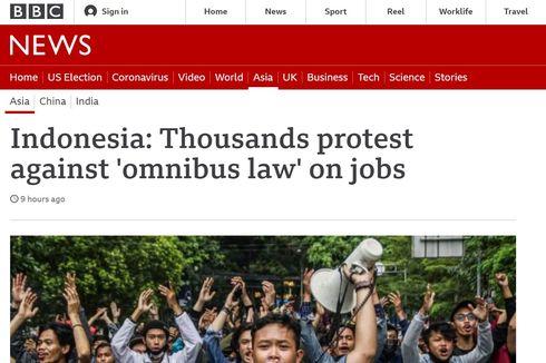 [POPULER GLOBAL] Demo Tolak UU Cipta Kerja Disorot Media Asing | Thai Airways Bangkrut, Banting Setir Jadi Penjual Gorengan