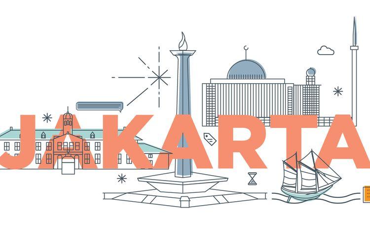 Ilustrasi Jakarta