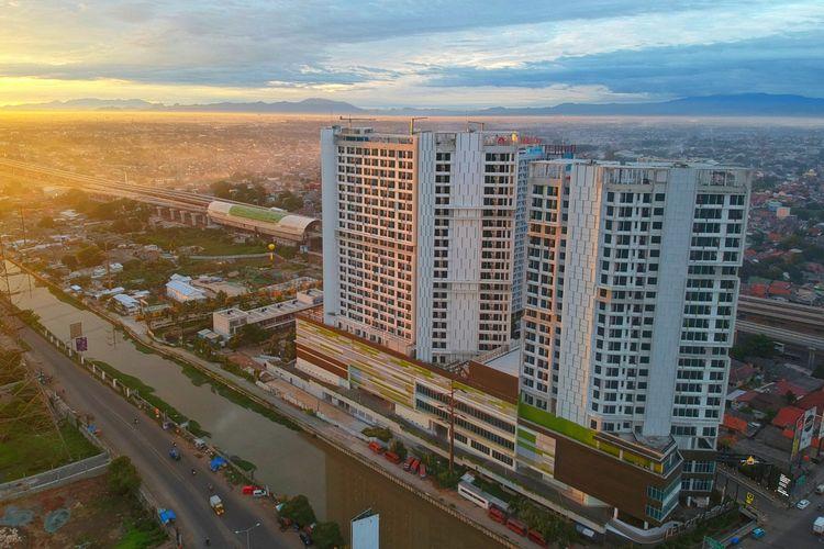 PT Adhi Commuter Properti akan merles dua proyek apartemen baru yakni LRT City Cibubur dan Oase Park di Ciputat.