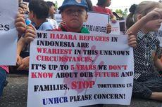 Merasa Tak Dipedulikan, Ratusan WNA Demo Kantor IOM di Pekanbaru
