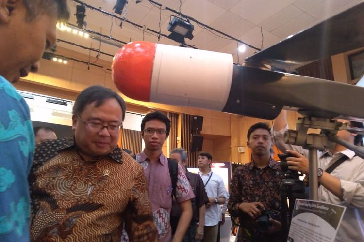 Menteri Riset dan Teknologi (Menristek), Bambang Brodjonegoro.