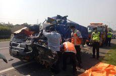 Kecelakaan Pikap dan Truk di Tol Tangerang-Merak, 2 Orang Tewas
