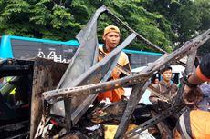 Dalang dan Pelaku Pembakaran Polsek Ciracas Tak Kunjung Terungkap