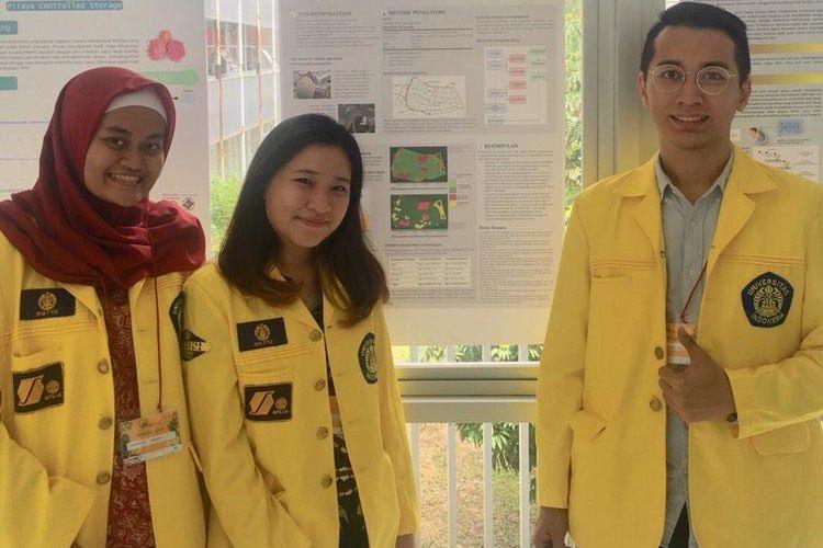 Tiga mahasiswa Fakultas Teknik Universitas Indonesia (FTUI) mengembangkan sebuah perangkat lunak untuk membantu menemukan jalur sistem irigasi paling optimal dengan panjang minimum dan belokan minimum menggunakan algoritma A*.