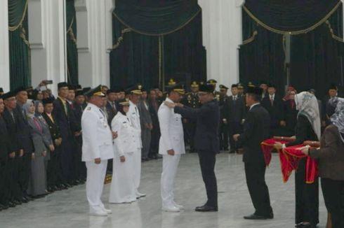 Ridwan Kamil Lantik Bupati Kuningan dan Wali Kota Banjar