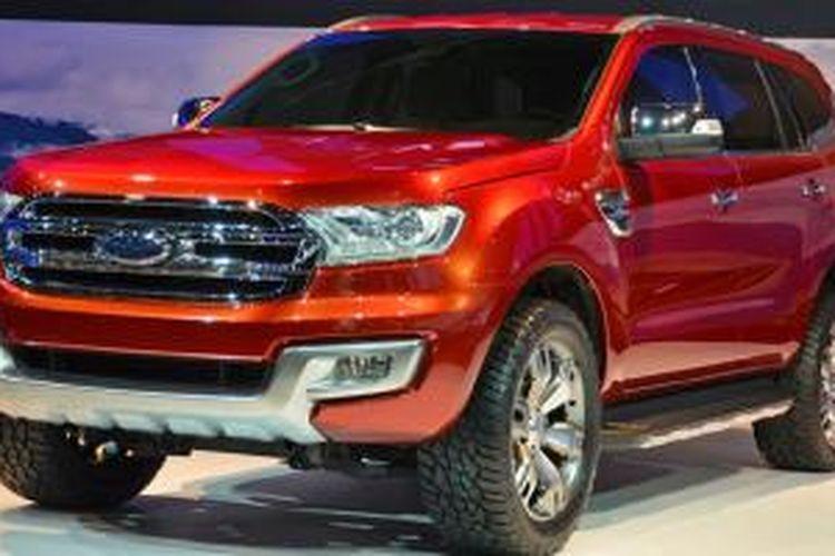Ford Everest Terbaru Meluncur Tahun Depan