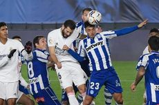 Hasil Real Madrid Vs Alaves - Blunder Courtois Bikin Los Blancos Tersungkur