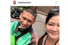 Kisah Haru Melanie Subono dan Driver Ojol, Ini Komentar Teman Artis