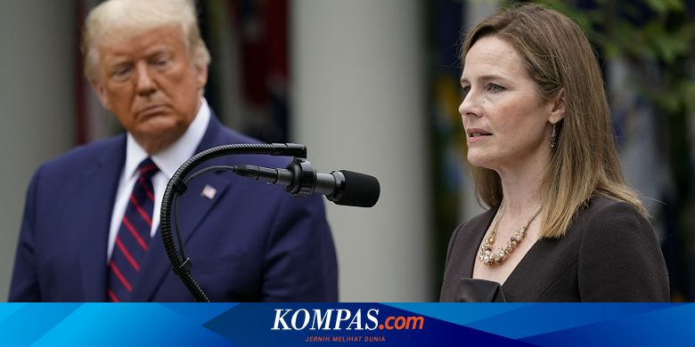 Sosok Amy Coney Barrett, Calon Hakim Agung AS yang