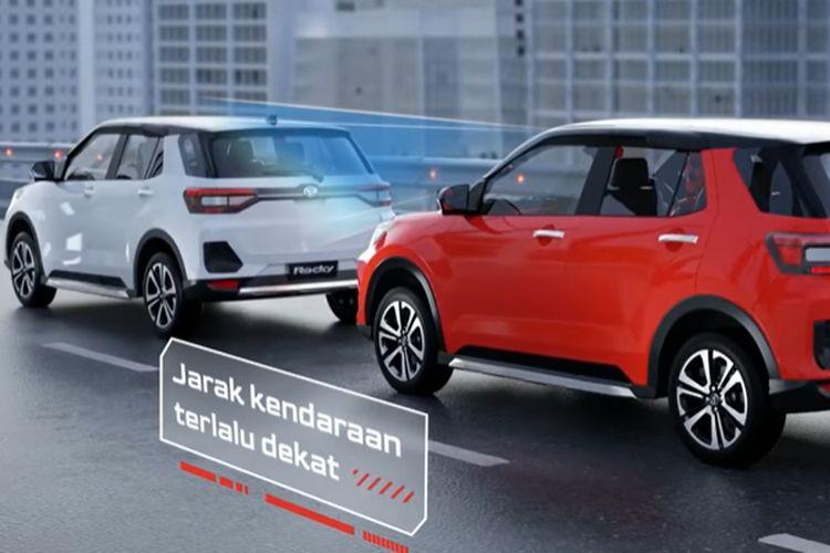 Daihatsu Pre-collision Warning and Braking