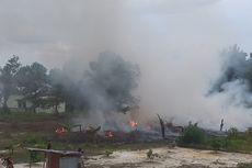 2 Orang Ini Bersihkan Lahan dengan Cara Dibakar, Kebakaran Berjarak 50 Meter dari Permukiman