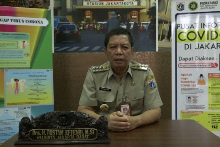 Wali Kota Jakarta Barat Rustam Effendi