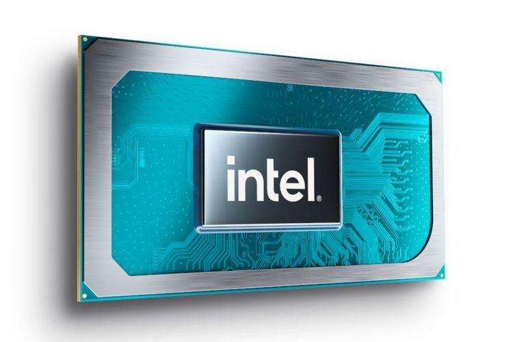 Ilustrasi prosesor Intel Core H-Series.