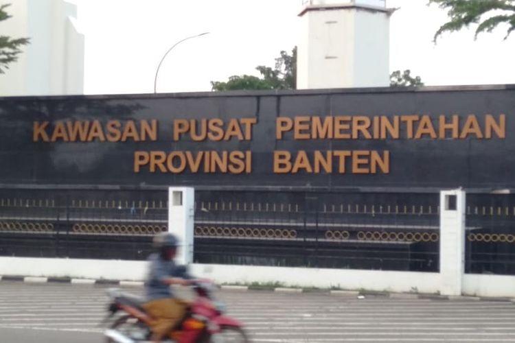 Kantor OPD di Kawasan Pusat Pemerintahan Provinsi Banten akan menjadi tempat isolasi pasien Covid-19
