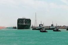 Dampak Terusan Suez Macet, Mesir Minta Ganti Rugi Rp 14,5 Triliun