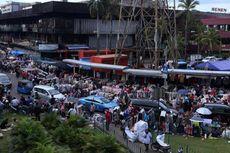 Saat Relokasi Selesai, Pedagang di Trotoar Pasar Senen Ditertibkan