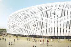 Qatar Bangun Stadion Piala Dunia 2022 Menyerupai Kopiah Tradisional